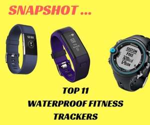 11 of the Best Waterproof Fitness Trackers – Snapshot