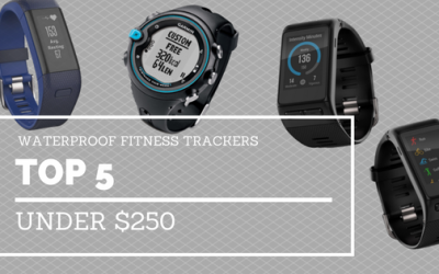 5 Waterproof Fitness Trackers For Under $250